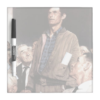 Freedom Of Speech Dry-Erase Whiteboard