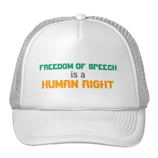 Freedom of Speech Hat