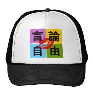 Freedom of Speech in Chinese Hat