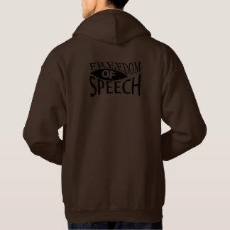 Freedom Of Speech - red 2 Hoodie
