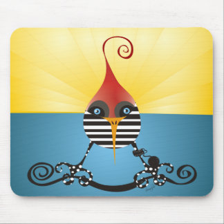 Freedom of the Jailbird Mouse Pad
