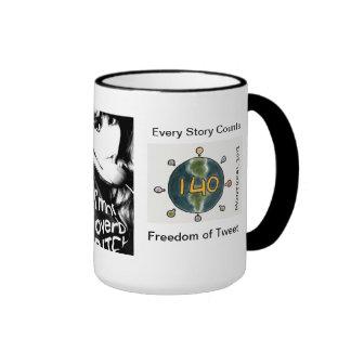 Freedom of Tweet Mug