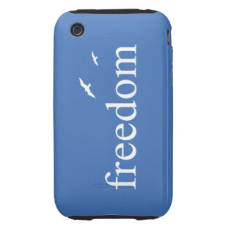 Freedom Quote Tough iPhone 3 Cases