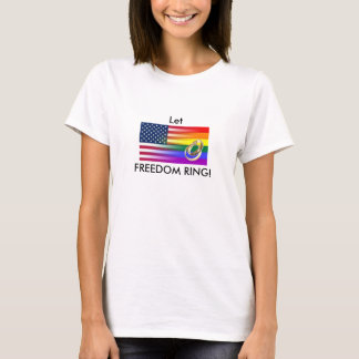 freedom ring marriage equality Tshirt