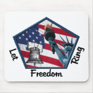 freedom-ring mouse pad