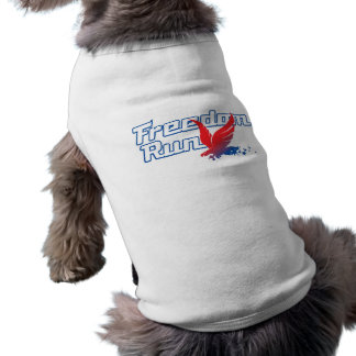 Freedom Run Pet Shirt