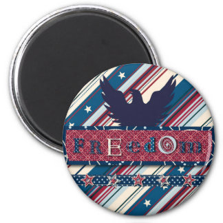 Freedom Stripe Magnet II
