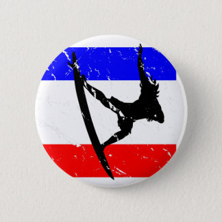 Freedom Surfing FLAIR 6 Cm Round Badge
