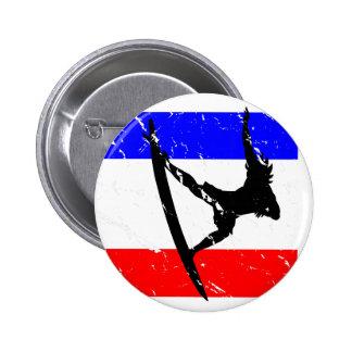 Freedom Surfing FLAIR 6 Cm Round Badge