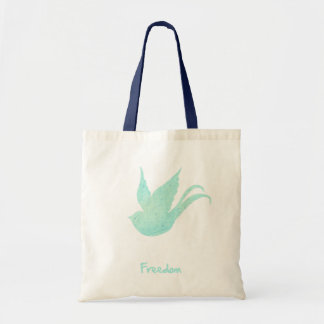 Freedom swallow budget tote bag