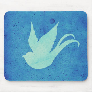 Freedom swallow mouse pad