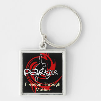 Freedom Through Motion Key Ring