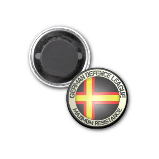 Freedom, tolerance, peace 3 cm round magnet
