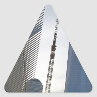 Freedom Tower New York formerly World Trade Centre Triangle Sticker