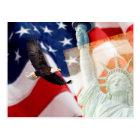 Freedom U Postcard for American Patriots.