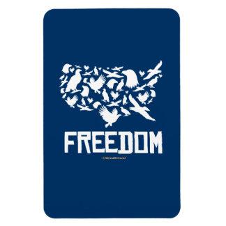 Freedom - United States of Freedom Rectangular Photo Magnet