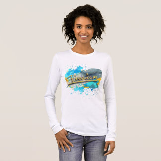 Freedom Woman's Long Sleeve Tee