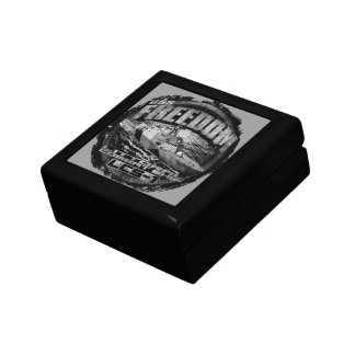 Freedom Wooden Jewelry Keepsake Box