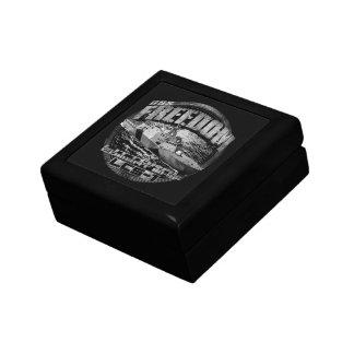 Freedom Wooden Jewelry Keepsake Box