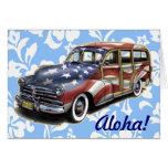 Freedom Woody Hawaiian Greeting Card