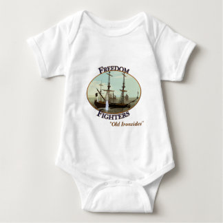 freedomfighters, The USS Constitution Baby Bodysuit