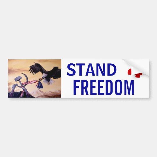 """Freedom's Battle"" bumper sticker"