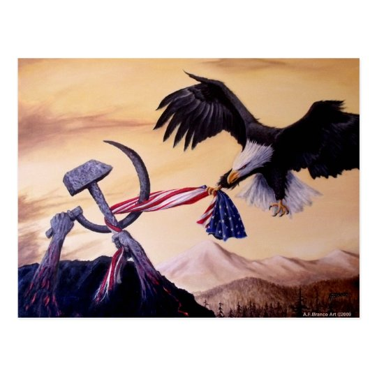 """Freedoms Battle"" postcard"