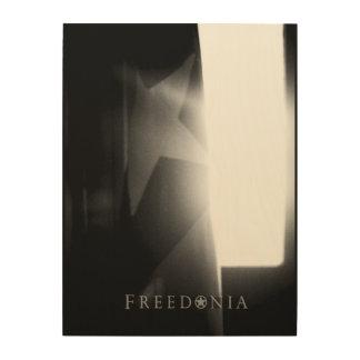 Freedonia Wood Panel - Lone Star