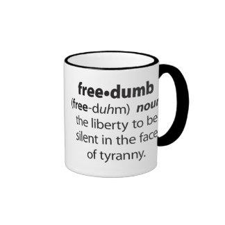 Freedumb Coffee Mugs