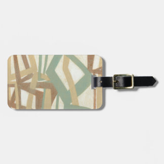 Freehand Painting by Norman Wyatt Luggage Tag