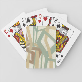 Freehand Painting by Norman Wyatt Poker Deck