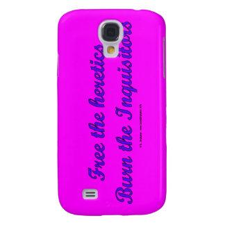 FreeHereticsBurnInquis Samsung Galaxy S4 Cases