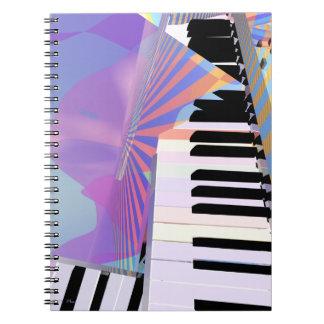 Freeing Keyboard Music Note Book