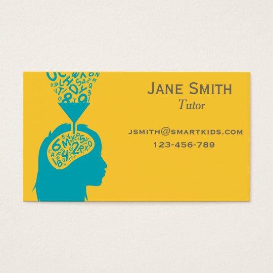 Freelance tutor or teacher for any subject business