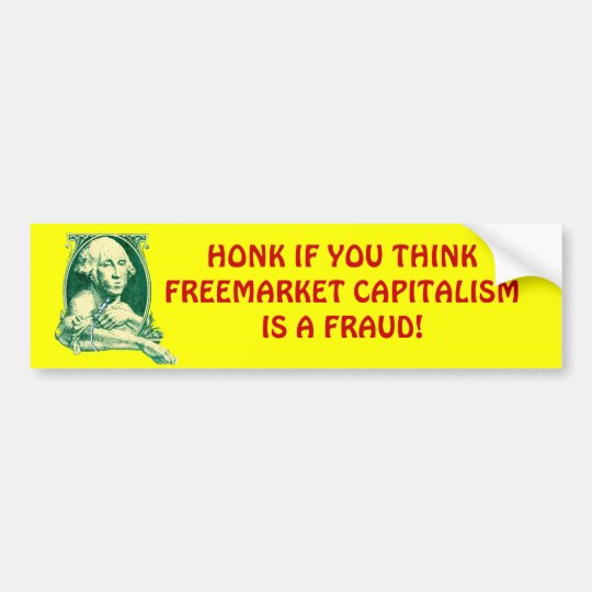 Freemarket - Bumper Sticker