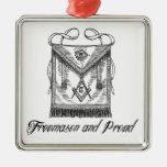 Freemason and Proud Ornament