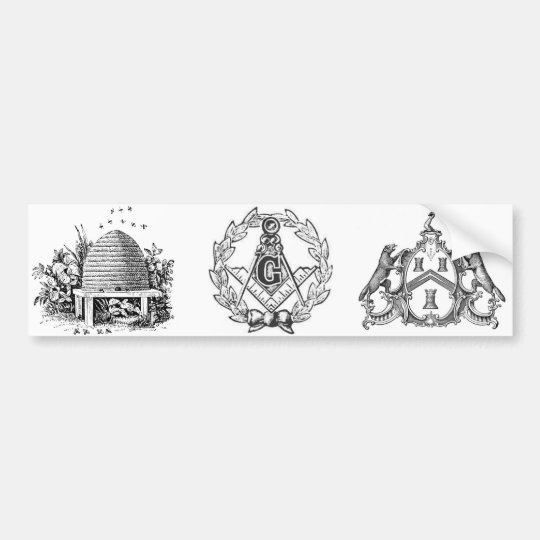 FREEMASON BUMPER STICKER