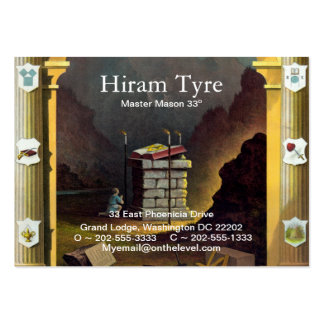 Freemason Business Card Templates
