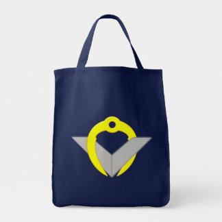 Freemason circle angle Freemasons Square compass Grocery Tote Bag