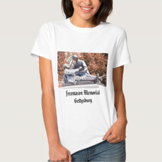 Freemason Memorial Gettysburg PA T Shirt