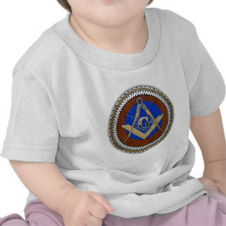 freemason NWO conspiracy square & compass T Shirt