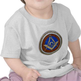 freemason NWO conspiracy square & compass Tee Shirts