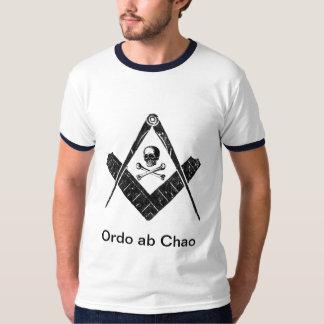 """Freemason """"Order out of Chaos"""" T-Shirt"""
