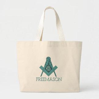 Freemason Square & Compass Freemason Jumbo Tote Bag