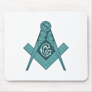 Freemason Square & Compass Mouse Pad