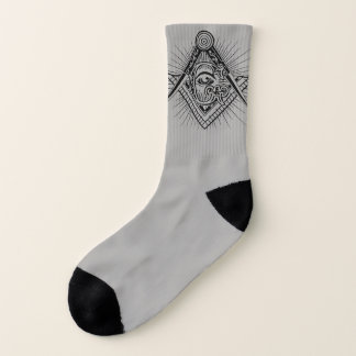 Freemason Symbol Art socks 1