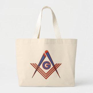 Freemason symbol bags