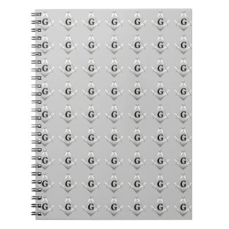 Freemasonry symbol notebook