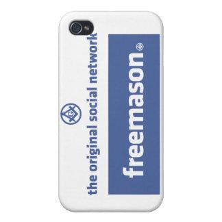 Freemasonry, the original social network. Facebook Cases For iPhone 4