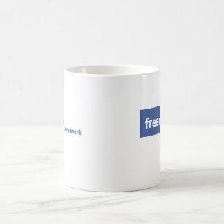 Freemasonry, the original social network. Facebook Coffee Mug